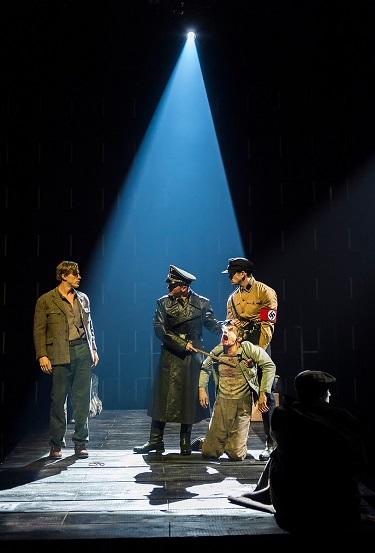 """""""L-R: Patrick Heusinger, Brionne Davis, Andy Mientus and Tom Berklund, Photo Courtesy of Craig Schwartz"""
