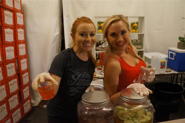 Bartenders from Ole Smoky Tennessee Moonshine.