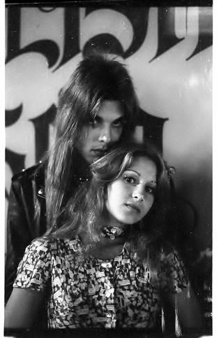 "John Condon aka ""Smokey"" and Nancy, aka ""Gaschamber Nancy"" Schuler. (Courtesy of John Condon, photo by E.J. Emmons)"