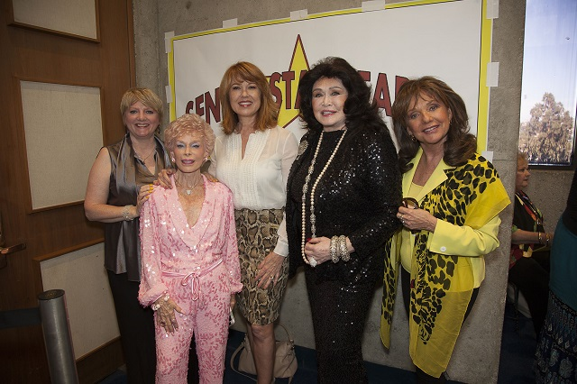 (L-R) Alison Arngrim, The Pink Lady, Lee Purcell, and Dawn Wells, Photo Courtesy of Bill Dow Photography