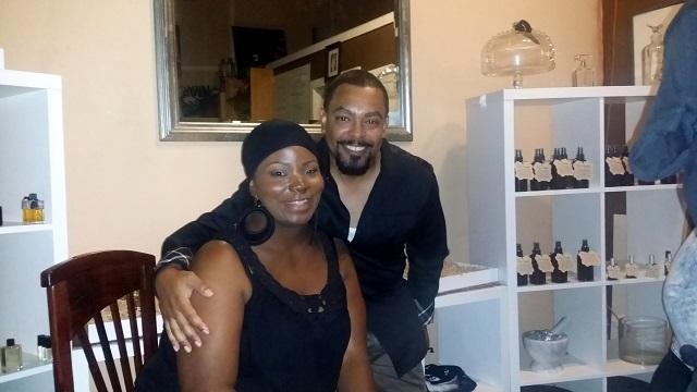 Kiason and Angel, Photo by Jennifer K. Hugus for The Los Angeles Beat