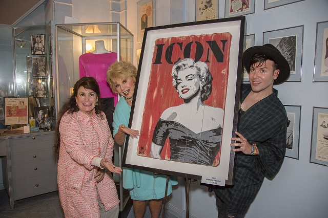 (L-R) Donelle Dadigan, Ruta Lee, Pegasus, Photo Courtesy of Bill Dow
