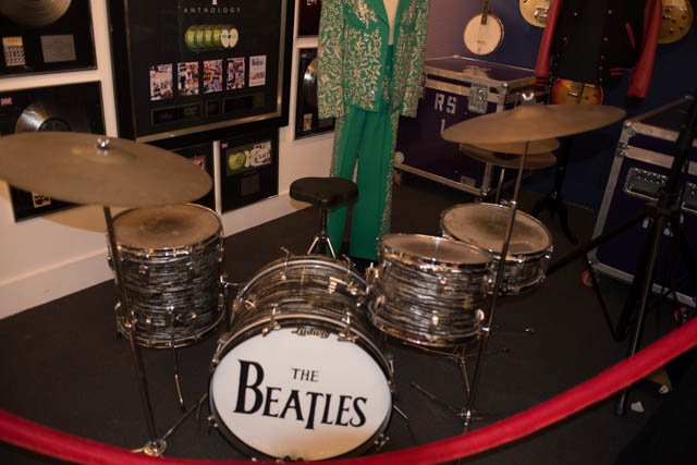 World's most famous drums.
