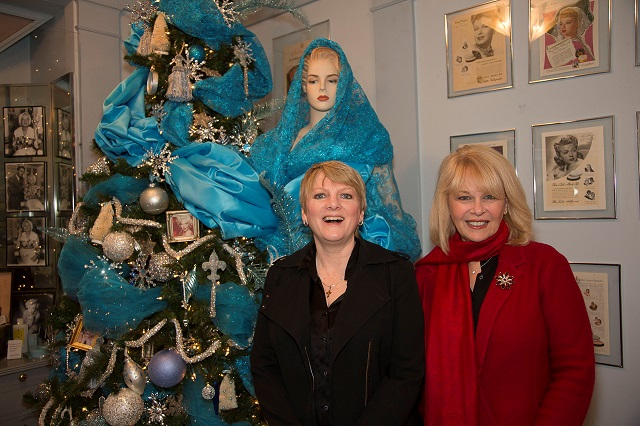 (L-R) Alison Arngrim and Ilene Graff; Photo Courtesy of Bill Dow