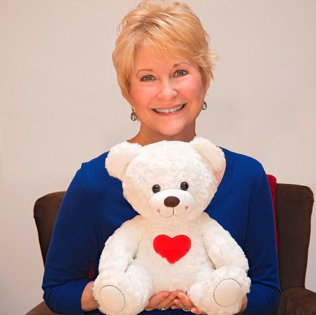 Dee Wallace and BuppaLaPaloo Bear, Photo Courtesy of BHBPR