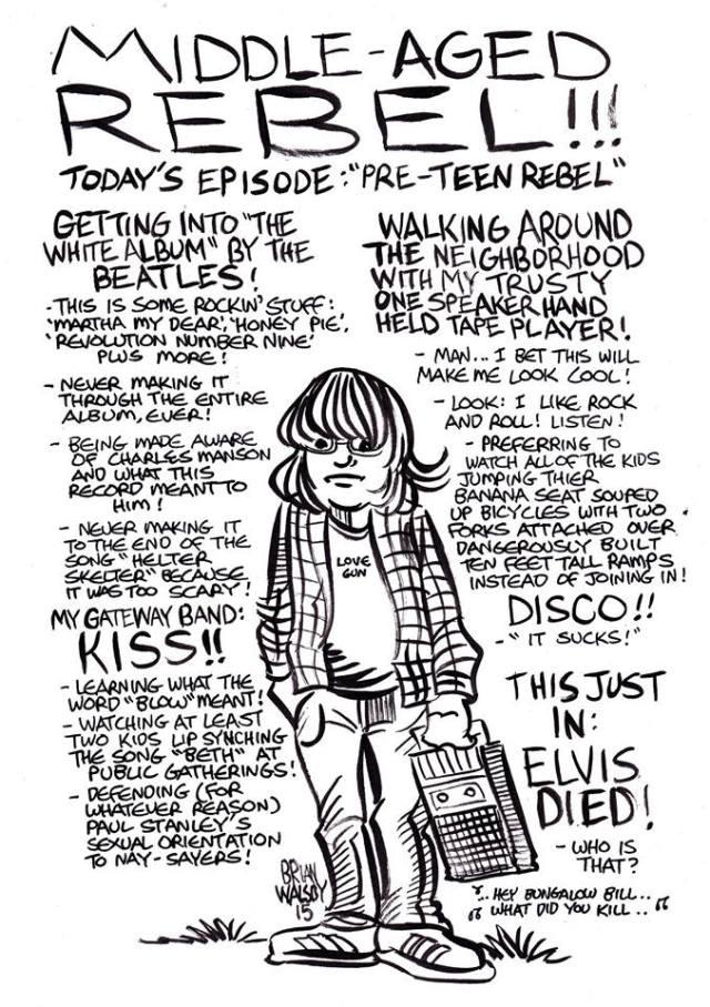 teen rebel brian walsby