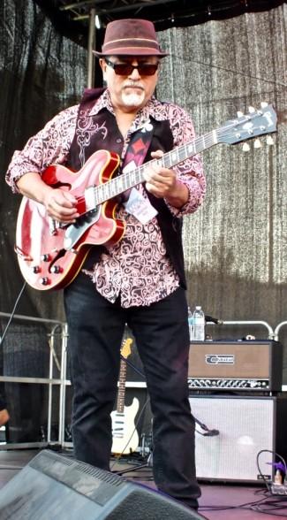 Joey Delgado playing