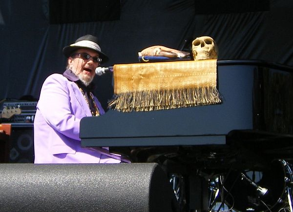 Dr. John at LB Blues Fest 2007 (Photo by Elise Thompson)