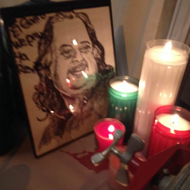 shrine to jonathan gold