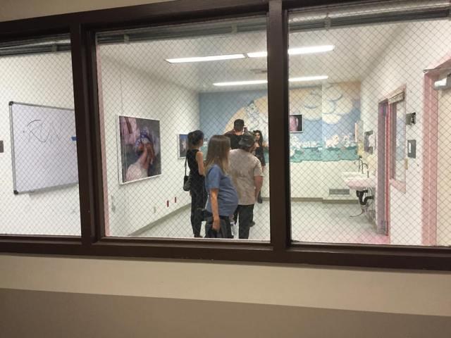 Maternity Ward (Photo by Lisa Rosales)