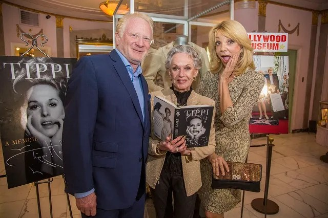 (L-R) Don Most, Tippi Hedren, Teresa Ganzel; Photo Courtesy of Bill Dow Photography