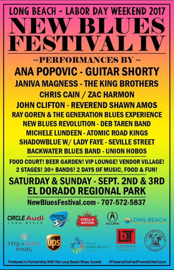New Blues Festival IV poster