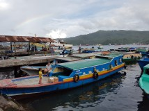 Chartered boat to Lembeh.