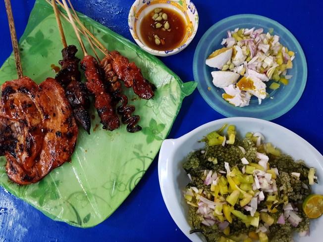 BBQ at Larsian, Cebu City.