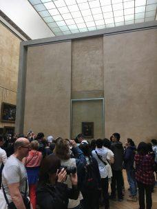 Mona Lisa 1 hour later