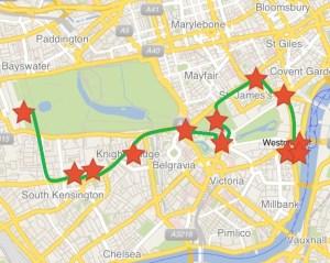 London Highlights Walk
