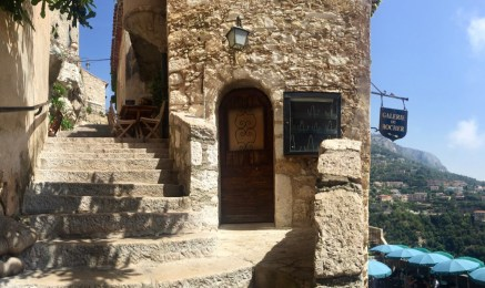 Finally reaching Eze Village