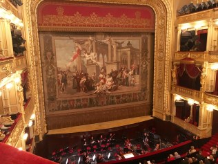Inside the Prague National Theater