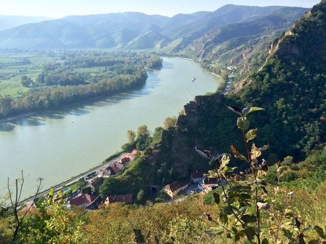 View from Durnstein Castle