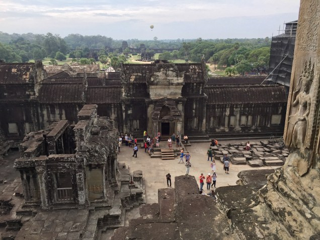 From the top of Angkor Wat