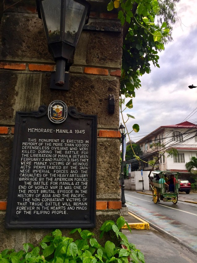 Reading about some of Manila's history