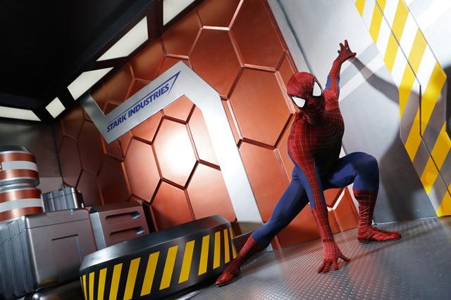 Hong Kong Disneyland_Spider-Man_(3)