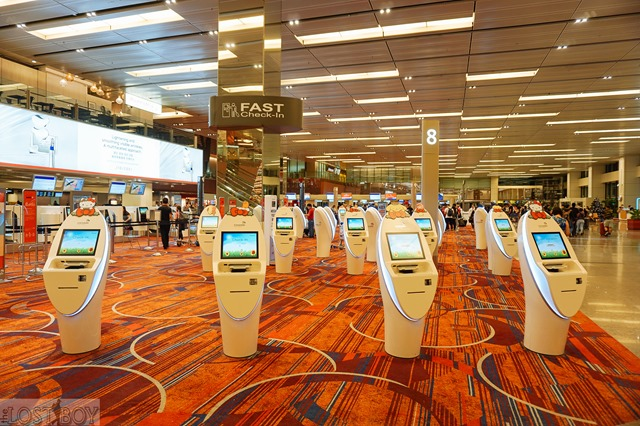 Using FAST Check-in with Jetstar at Singapore Changi Airport