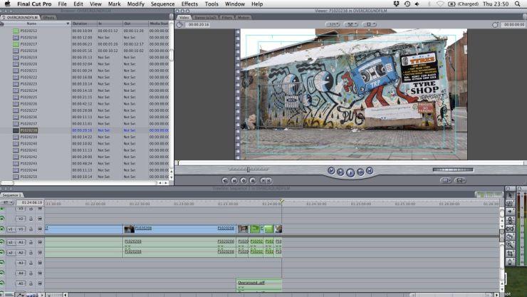 Iain Sinclair Overground film