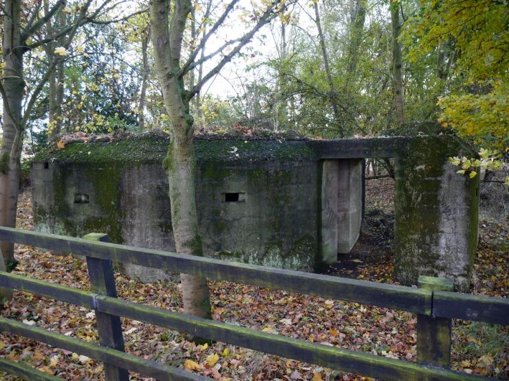 Pillbox Copped Hall Outer London Defence Ring