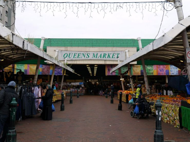 Queens Market Green Street