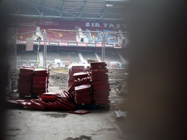 Upton Park West Ham demolition