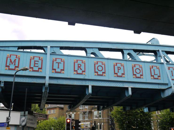 Kilburn Station bridge