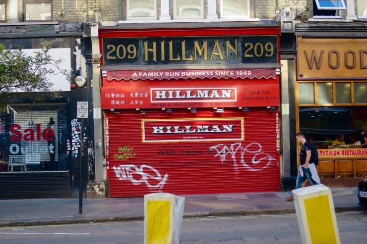 Hillman Cricklewood