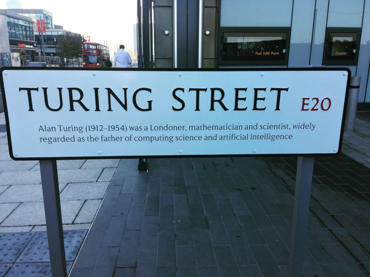 Turing Street E20