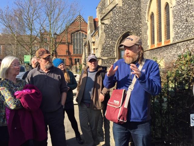 John Rogers Philley Brook walk