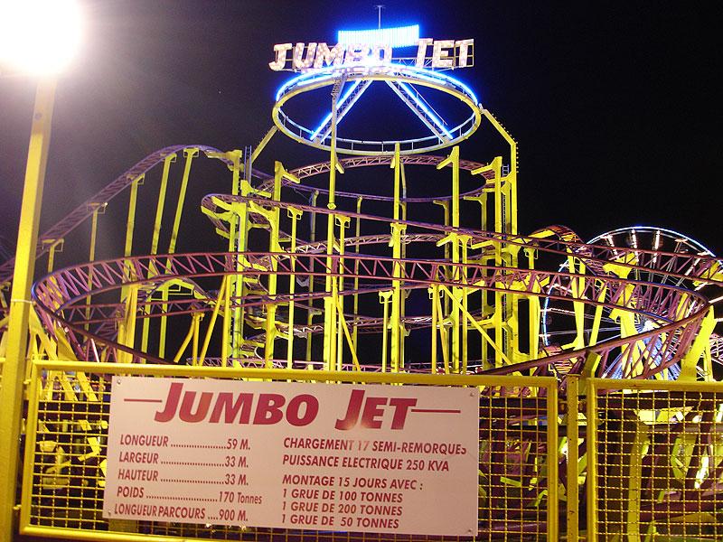Amigoland's Jumbo Jet (Front)