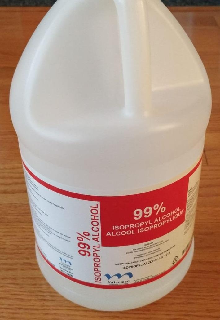 Isopropyl Alcohol 99 percent 4L