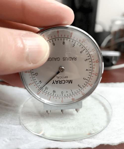 Lens Clock Measuring Back Curve of Semi Finished Lens