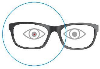Semi Finished Lens Centered On Pupil