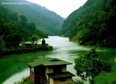 At Dikchu bridge