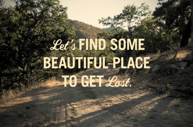lets find some beautiful place
