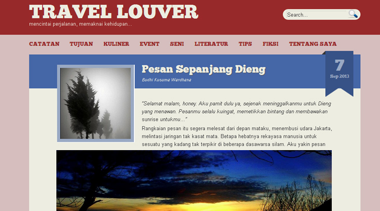 travel louver