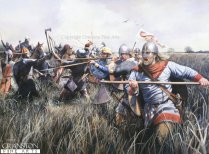 Fire from the Fens, c.1071 by Chris Collingwood (P) Fire from the Fens, c.1071 by Chris Collingwood (P)