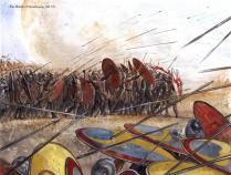 La batalla de Estrasburgo, 357 d.C.