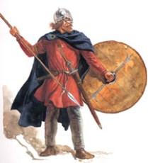 Viking warrior, 8th-9th centuries by Gerry Embleton