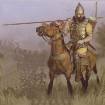 Assyrian cavalry from the reign of Sennacherib (704-681 BC)
