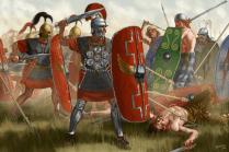 Gallic Wars, 58-51 BC.
