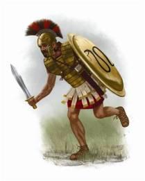 Greek Mercenary in the army of Darius III