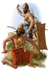 Hammurabic warrior and Akkadian Archer
