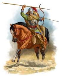 Horse Archer VI century AD Roman 2